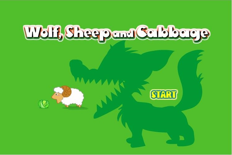 Brain Challenge - How can you save the wolf, sheep and cabbage?